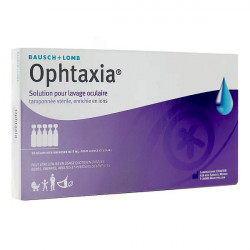 Bausch + Lomb Ophtaxia solution oculaire 10 unidoses