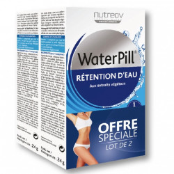 Nutreov Water Pill Rétention d'Eau 30 Comprimés, lot de 2
