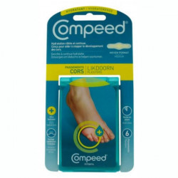 Compeed Hydratant cors 6 pansements