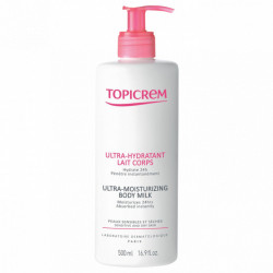 Topicrem lait corps ultra hydratant 500 ml