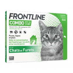 Frontline Combo Chat 3 Pipettes