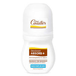 Rogé Cavaillès Absorb+ Déodorant Sans Parfum Roll'On 50 ml