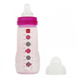 MAM Easy Active 2ème âge Rose 330 ml