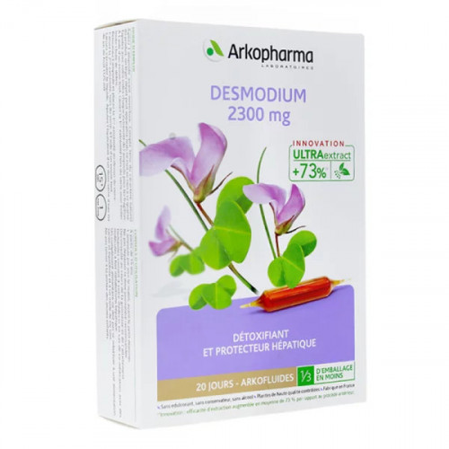 Arkofluides Desmodium 2300 mg 20 ampoules