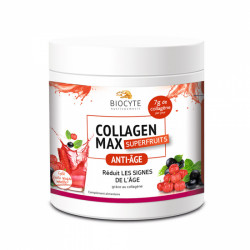 Biocyte Beauty Food Collagen Max Fruits Rouges-Menthe 260 g