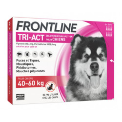 Frontline Tri Act spot on Très Grand Chien 40 - 60 kg 6 pipettes