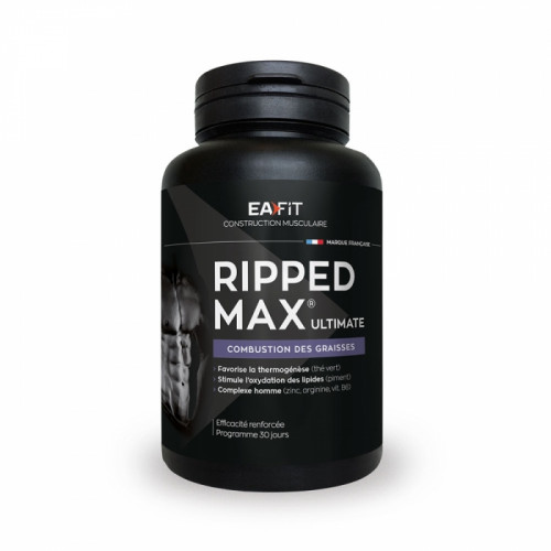 EAFIT RIPPED MAX ULTIMATE 120 COMPRIMES