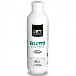 STC NUTRITION GEL CRYO DÉFATIGANT 150 ML