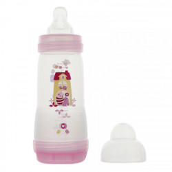 MAM Easy Start débit rapide biberon Rose 320 ml
