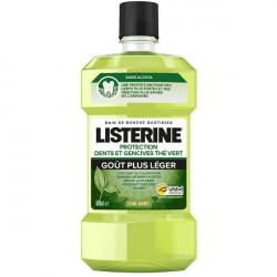 Listerine Protection Dents et Gencives au Thé Vert 500 ml