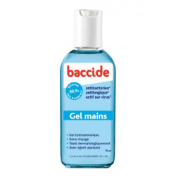 COOPER BACCIDE GEL MAINS HYDROALCOOLIQUE 100ML