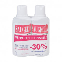 SAUGELLA POLIGYN LOT DE 2 X 500 ML