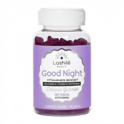 Lashile Beauty Good Night Vitamines Boost Nuit Sublime 60 gommes